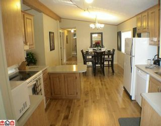 """Photo 3: 27A 24330 FRASER Highway in Langley: Otter District Manufactured Home for sale in """"LANGLEY GROVE ESTATES"""" : MLS®# F1002102"""
