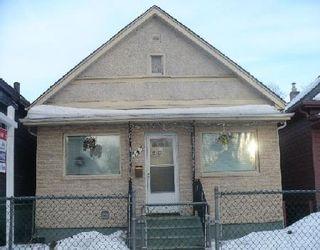 Photo 1: 343 LIPTON ST in WINNIPEG: Residential for sale (Canada)  : MLS®# 2903777