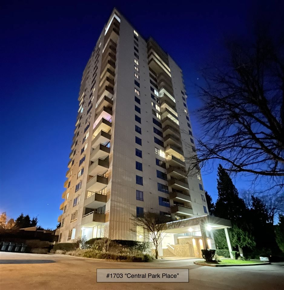 Main Photo: 1703 4160 SARDIS STREET in Burnaby: Central Park BS Condo for sale (Burnaby South)  : MLS®# R2522337