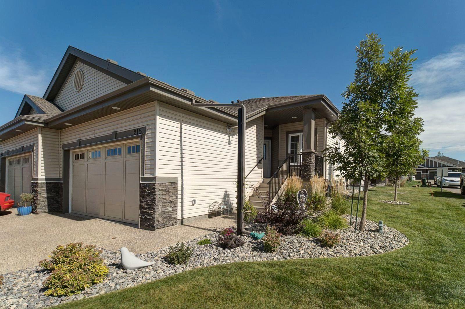 Main Photo: 215 50 HEATHERGLEN Drive: Spruce Grove House Half Duplex for sale : MLS®# E4263585