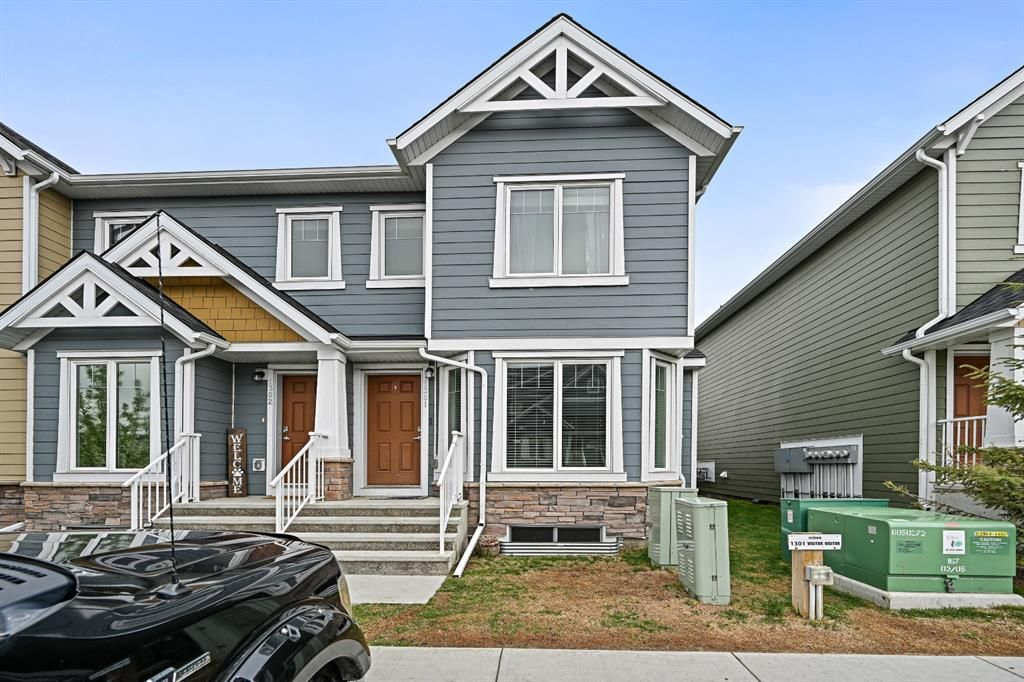 Main Photo: 1301 2400 Ravenswood View: Airdrie Row/Townhouse for sale : MLS®# A1112373