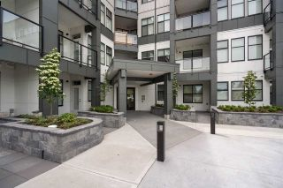 """Photo 1: 408 2120 GLADWIN Road in Abbotsford: Central Abbotsford Condo for sale in """"Onyx at Mahogany"""" : MLS®# R2590295"""