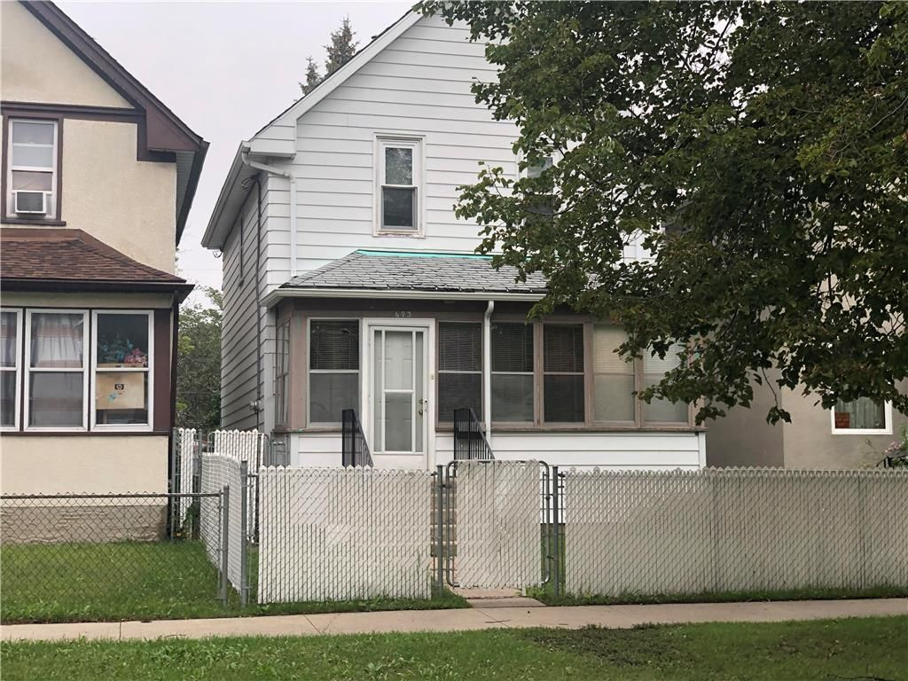 Main Photo: 693 Stella Avenue in Winnipeg: North End Residential for sale (4A)  : MLS®# 202120977