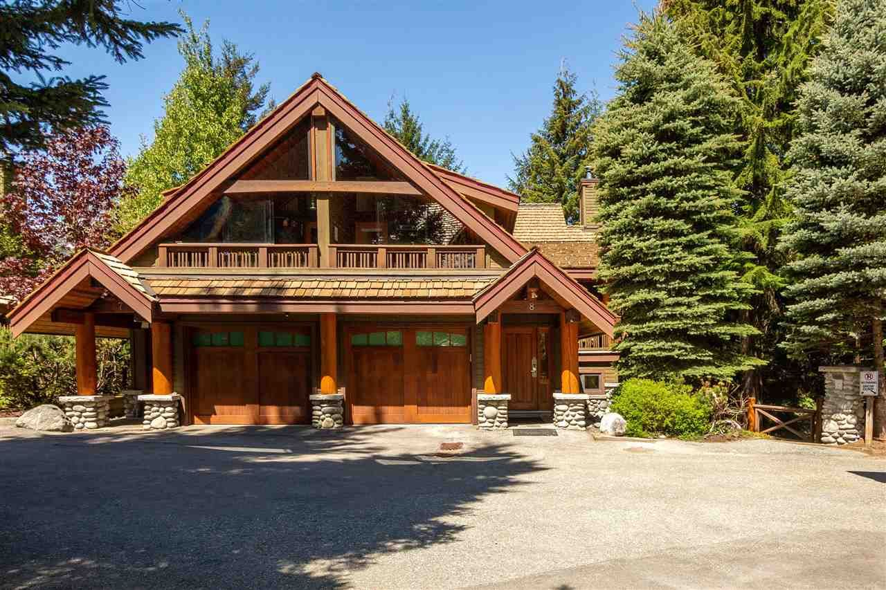 """Main Photo: 8 4701 GLACIER Drive in Whistler: Benchlands Townhouse for sale in """"Cedar Hollow"""" : MLS®# R2591686"""