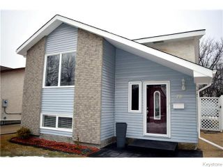 Photo 1: 78 Satinwood Place in Winnipeg: St Vital Residential for sale (South East Winnipeg)  : MLS®# 1605581