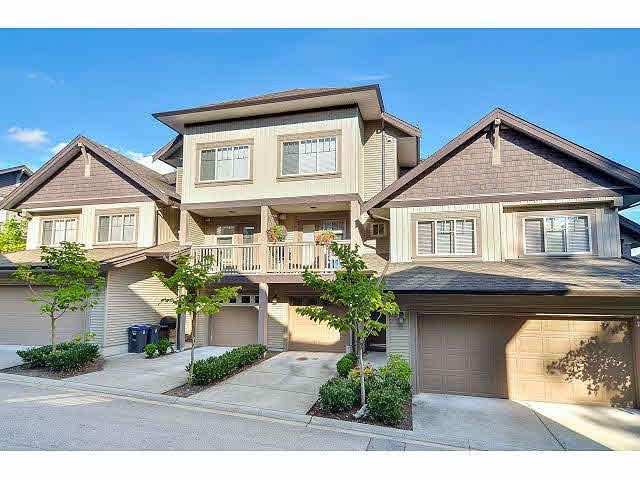 """Main Photo: 18 6238 192ND Street in Surrey: Cloverdale BC Townhouse for sale in """"BAKERVIEW TERRACE"""" (Cloverdale)  : MLS®# F1420554"""