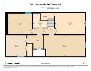 Photo 37: 5423 Ladbrooke Drive SW in Calgary: Lakeview Detached for sale : MLS®# A1080410