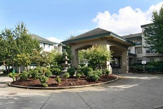 "Photo 1: 115 19528 FRASER Highway in Surrey: Cloverdale BC Condo for sale in ""The Fairmont"" (Cloverdale)  : MLS®# R2224596"