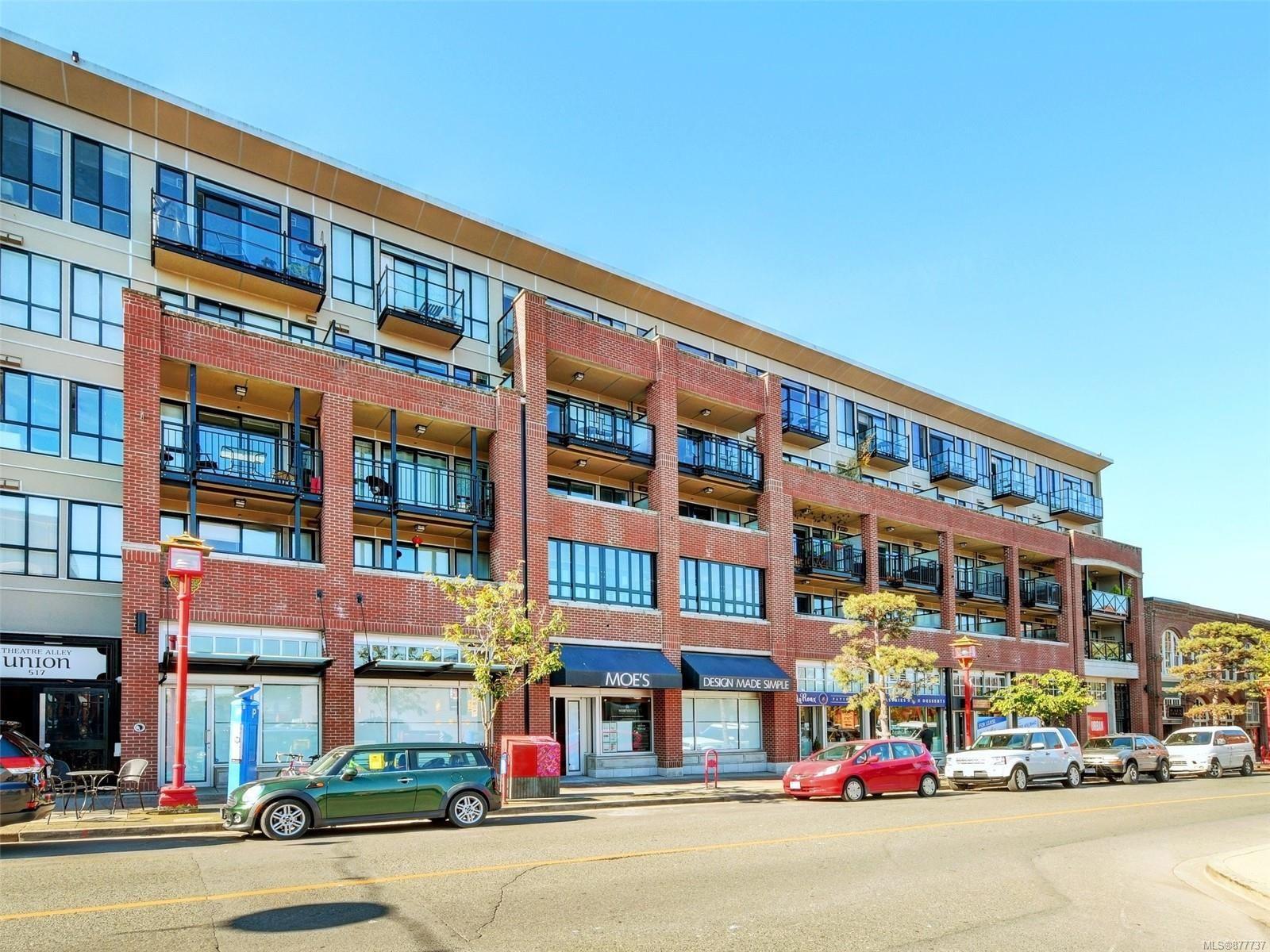 Main Photo: 409 517 Fisgard St in : Vi Downtown Condo for sale (Victoria)  : MLS®# 877737