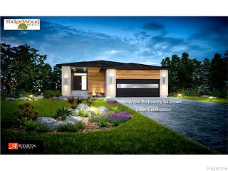 Photo 1: 8 Singleton Court in Winnipeg: Charleswood Residential for sale (South Winnipeg)  : MLS®# 1612096