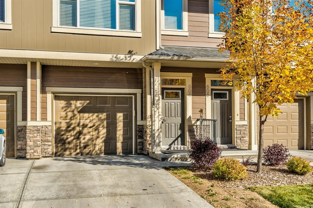 Main Photo: 504 Panatella Walk NW in Calgary: Panorama Hills Row/Townhouse for sale : MLS®# A1153133