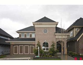 """Photo 1: 16363 26TH Avenue in Surrey: Grandview Surrey House for sale in """"MORGAN HEIGHTS"""" (South Surrey White Rock)  : MLS®# F2905327"""