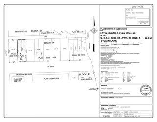 Photo 5: 5238 50B Avenue: Sylvan Lake Residential Land for sale : MLS®# A1146577