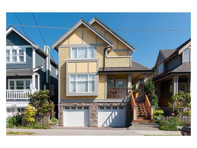 Main Photo: 1781 E 5TH Avenue in Vancouver: Grandview VE 1/2 Duplex for sale (Vancouver East)  : MLS®# V1007117