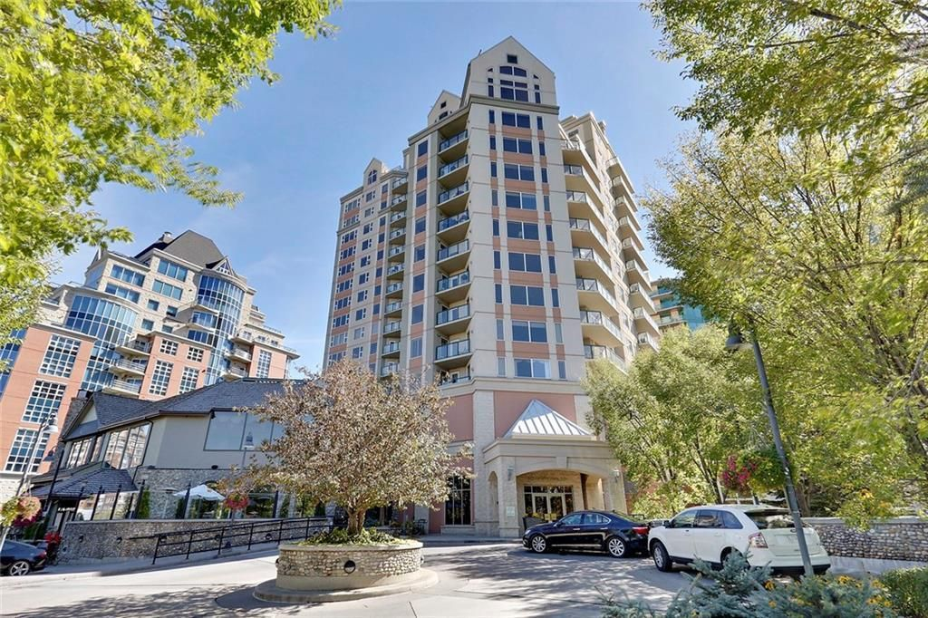 Main Photo: 602 200 LA CAILLE Place SW in Calgary: Eau Claire Apartment for sale : MLS®# C4261188