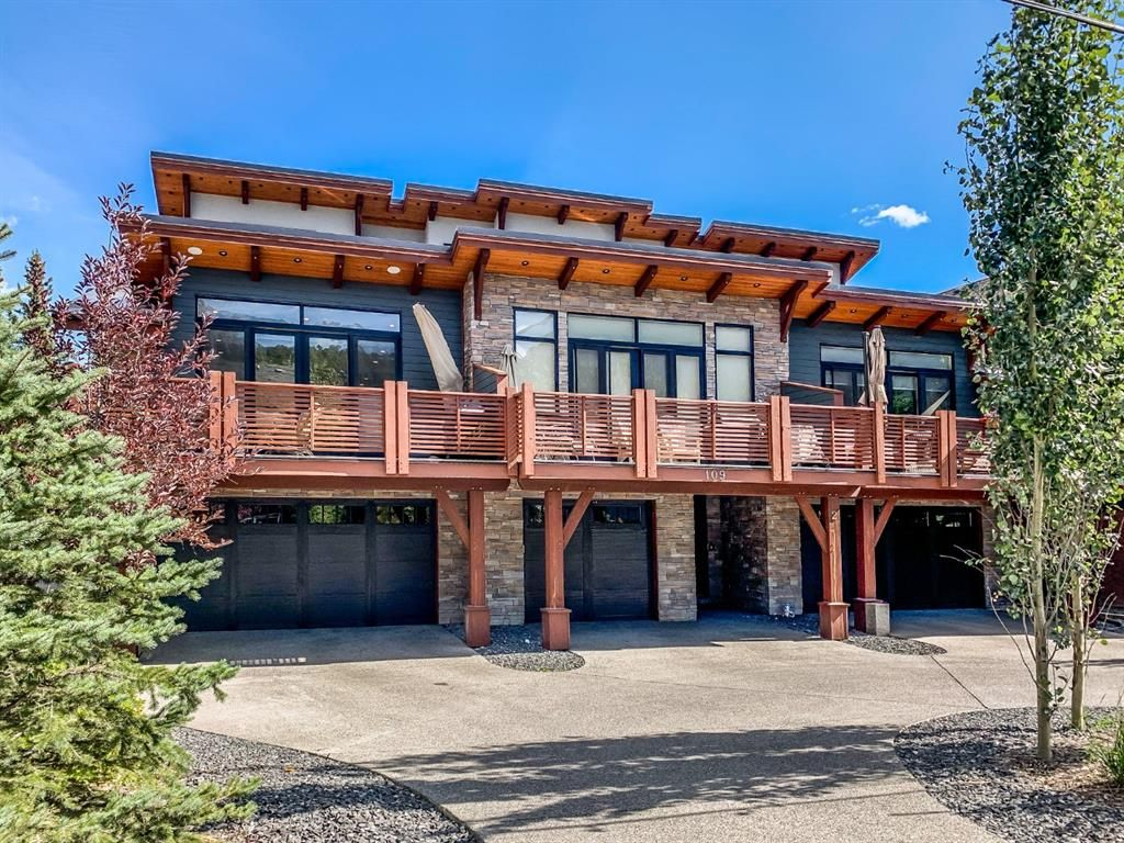 Main Photo: 1 109 Rundle Drive: Canmore Row/Townhouse for sale : MLS®# A1147237