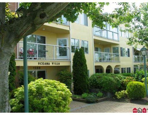 "Main Photo: 215 1280 FIR Street in White_Rock: White Rock Condo for sale in ""OCEANA VILLA"" (South Surrey White Rock)  : MLS®# F2907451"