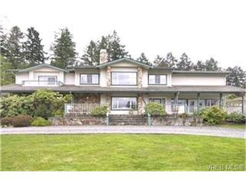 Main Photo:  in BRENTWOOD BAY: CS Brentwood Bay House for sale (Central Saanich)  : MLS®# 390015