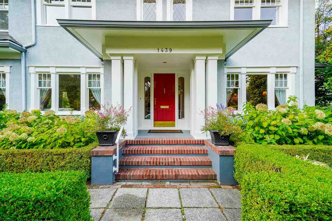 Main Photo: 1439 DEVONSHIRE Crescent in Vancouver: Shaughnessy House for sale (Vancouver West)  : MLS®# R2504843