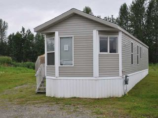 "Photo 1: 2181 GOLDEN POND Road in Quesnel: Red Bluff/Dragon Lake Manufactured Home for sale in ""ASHLAND MEADOWS"" (Quesnel (Zone 28))  : MLS®# N222270"