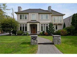 Photo 1: 6738 BEECHWOOD ST in Vancouver: S.W. Marine House for sale (Vancouver West)  : MLS®# V1029527