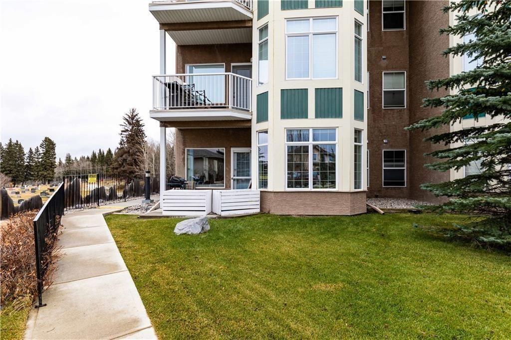 Main Photo: 101 248 SUNTERRA RIDGE Place: Cochrane Apartment for sale : MLS®# C4294936