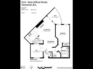 """Photo 20: 210 8450 JELLICOE Street in Vancouver: South Marine Condo for sale in """"THE BOARDWALK"""" (Vancouver East)  : MLS®# R2406380"""