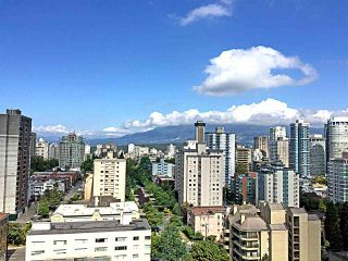 Photo 1: 1805 1028 BARCLAY STREET in Vancouver: West End VW Condo for sale (Vancouver West)  : MLS®# R2096950