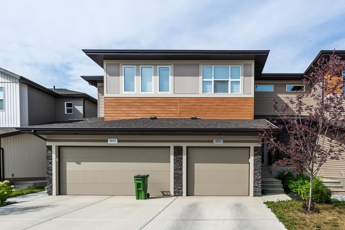 Main Photo: 1865 KEENE Crescent in Edmonton: Zone 56 Attached Home for sale : MLS®# E4259050