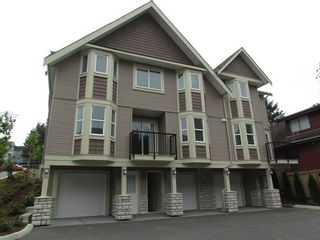 """Photo 1: 24 33313 GEORGE FERGUSON Way in Abbotsford: Central Abbotsford Townhouse for sale in """"Cedar Lane"""" : MLS®# R2076206"""