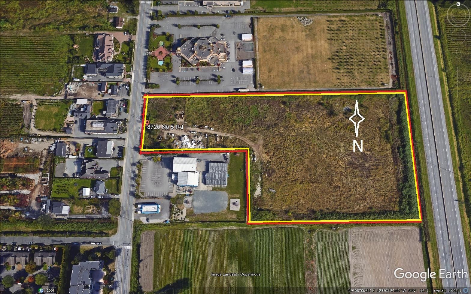 Main Photo: 8720 No. 5 Road in : McLennan Land for sale (Richmond)