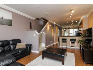 """Photo 6: 52 20460 66TH Avenue in Langley: Willoughby Heights Townhouse for sale in """"WILLOWS EDGE"""" : MLS®# F1418966"""