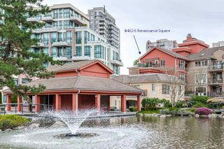 "Photo 1: 402 6 RENAISSANCE Square in New Westminster: Quay Condo for sale in ""RAILTO"" : MLS®# R2045554"