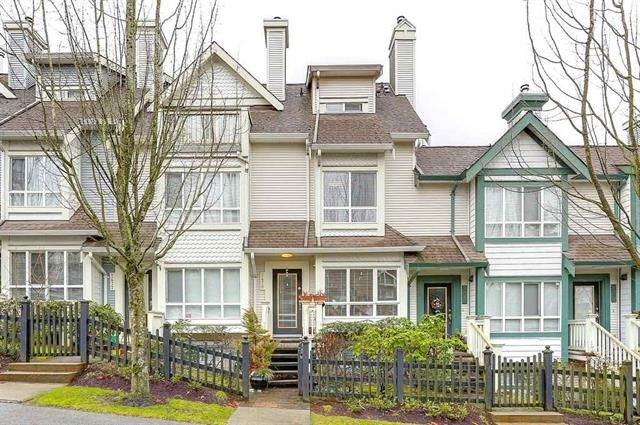 """Main Photo: 7478 HAWTHORNE Terrace in Burnaby: Highgate Townhouse for sale in """"ROCKHILL"""" (Burnaby South)  : MLS®# R2148491"""