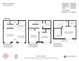 """Photo 31: 705 VICTORIA Drive in Vancouver: Hastings Townhouse for sale in """"Monogram"""" (Vancouver East)  : MLS®# R2581567"""