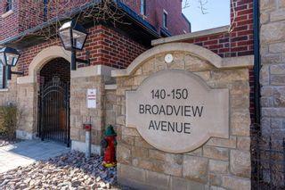 Photo 2: 37 140 Broadview Avenue in Toronto: South Riverdale Condo for sale (Toronto E01)  : MLS®# E5163573