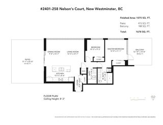 """Photo 34: 2401 258 NELSON'S Court in New Westminster: Sapperton Condo for sale in """"The Columbia"""" : MLS®# R2590104"""