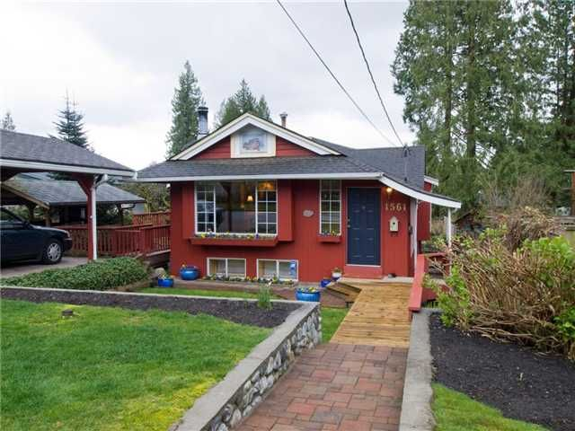 Main Photo: 1561 DOVERCOURT Road in North Vancouver: Lynn Valley House for sale : MLS®# V819816