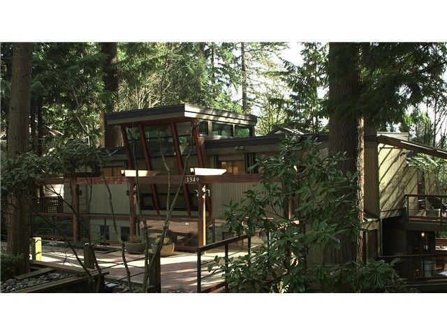 Main Photo: 1349 ELDON RD in North Vancouver: Canyon Heights NV House for sale : MLS®# V1109345