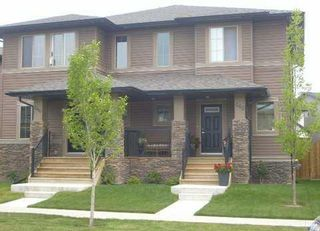 Photo 1: 262 CHAPARRAL VALLEY Drive SE in CALGARY: C-285 Residential Attached for sale (Calgary)  : MLS®# C3536921