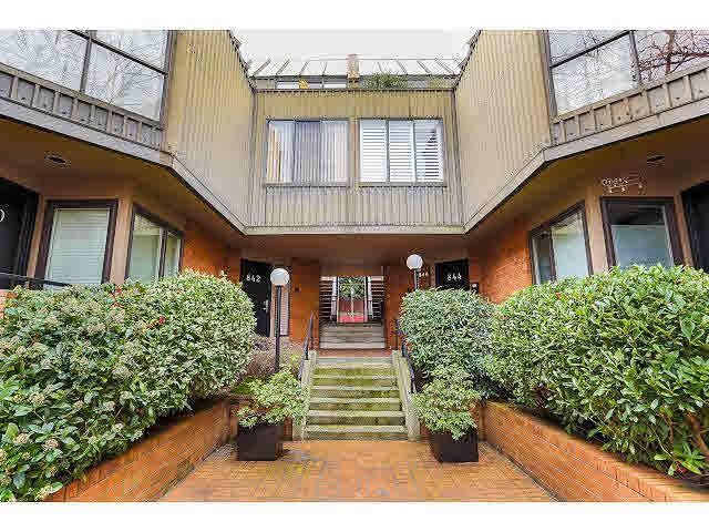 """Main Photo: 844 W 7TH AVE - LISTED BY SUTTON CENTRE REALTY in Vancouver: Fairview VW Townhouse for sale in """"WILLOW CASTLE"""" (Vancouver West)  : MLS®# V1106691"""