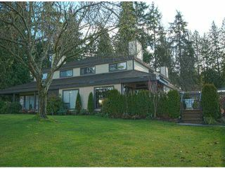 Photo 1: 3632 NICO WYND Drive in Surrey: Elgin Chantrell Townhouse for sale (South Surrey White Rock)  : MLS®# F1404265