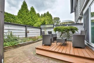 """Photo 16: 981 HOWIE Avenue in Coquitlam: Central Coquitlam Townhouse for sale in """"OAKWOOD"""" : MLS®# R2494241"""