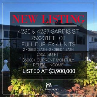 Photo 6: 4235 SARDIS Street in Burnaby: Central Park BS Duplex for sale (Burnaby South)  : MLS®# R2573988