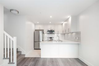 """Photo 3: 104 217 CLARKSON Street in New Westminster: Downtown NW Townhouse for sale in """"Irving Living"""" : MLS®# R2591819"""