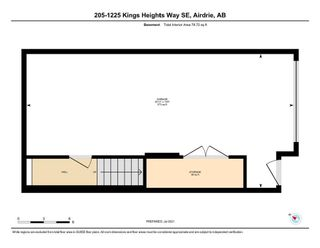 Photo 33: 205 1225 Kings Heights Way SE: Airdrie Row/Townhouse for sale : MLS®# A1122375