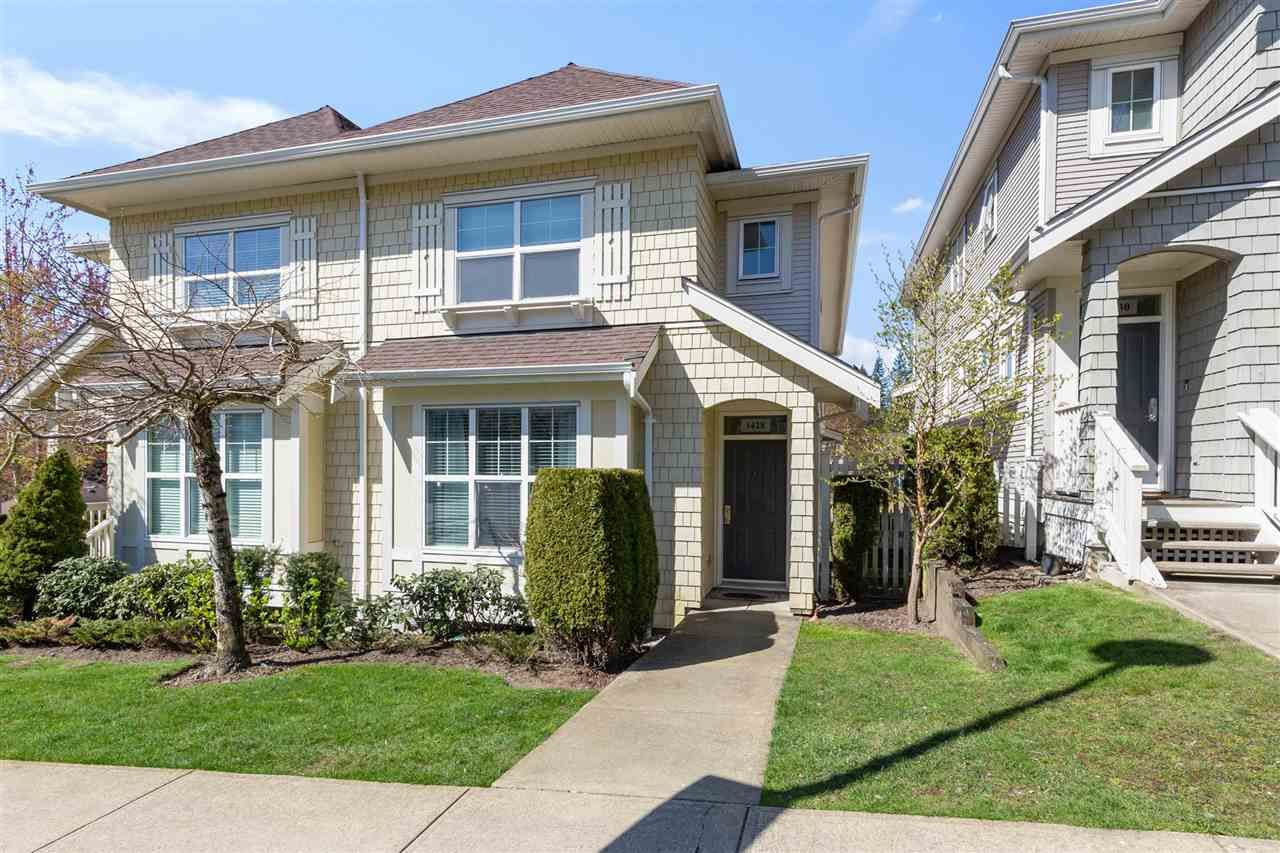 "Main Photo: 1428 MARGUERITE Street in Coquitlam: Burke Mountain Townhouse for sale in ""Belmont Walk"" : MLS®# R2569345"
