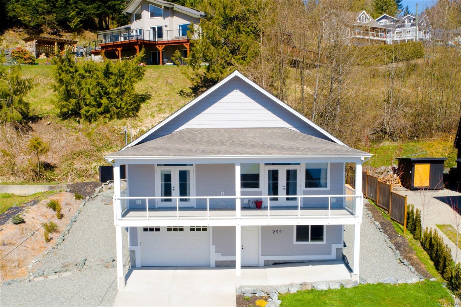 Main Photo: 259 North Shore Rd in : Du Lake Cowichan House for sale (Duncan)  : MLS®# 870895