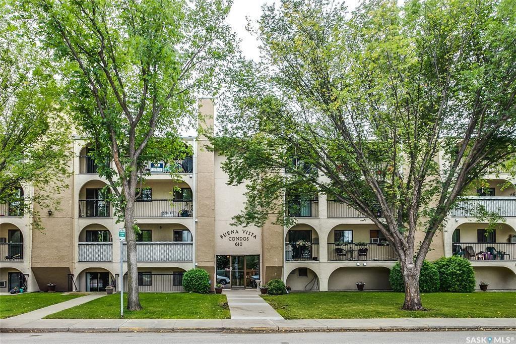 Main Photo: 202 610 Hilliard Street West in Saskatoon: Exhibition Residential for sale : MLS®# SK870236