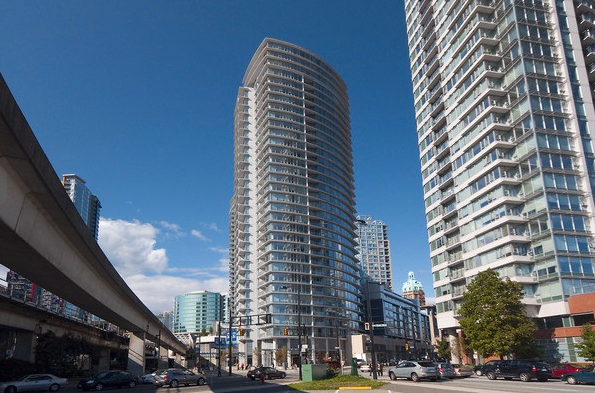 Main Photo: 806 689 Abbott Street in : Downtown Condo for sale (Vancouver West)  : MLS®# R2048660